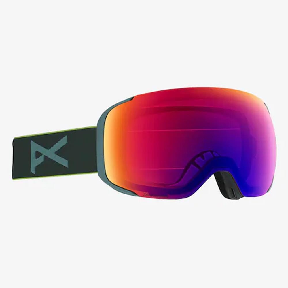 18557102042, GRAY POP/SONARIRBLUE, MENS ANON M2 GOGGLE + SPARE LENS, MENS GOGGLES, WINTER 2020