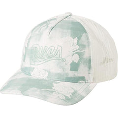 wahwprof-cle RVCA Offbeat Trucker Hat Light Blue