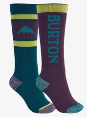 15171105300-burton-klids socks-dynasty green/parachute purple