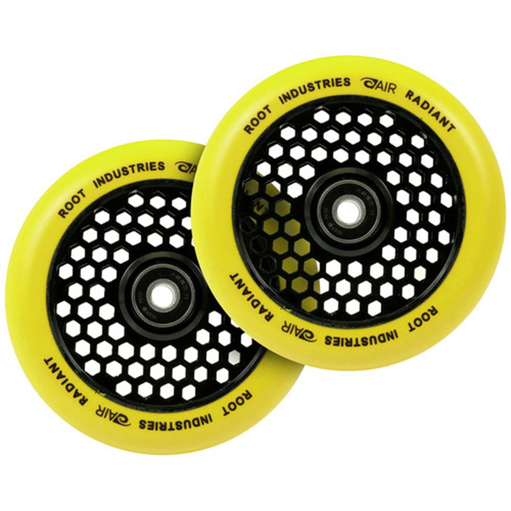 Root Industries, Honeycore Radiant Wheels, 110MM, Yellow