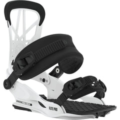 1931025 Union Bindings Mens Flite Pro Snowboard Binding white front