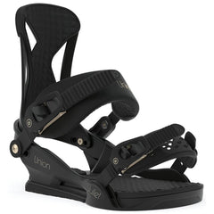 1933313 Union Bindings Womens Juliet Snowboard Binding black front