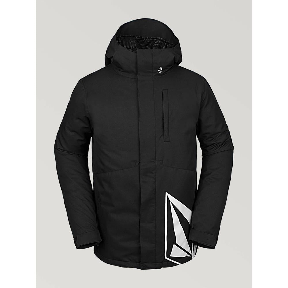 G0452010-BLK, BLACK, Volcom, 17 Forty Insulated Jacket, Mens Outerwear, Mens Snowboard Jacket, Winter 2020