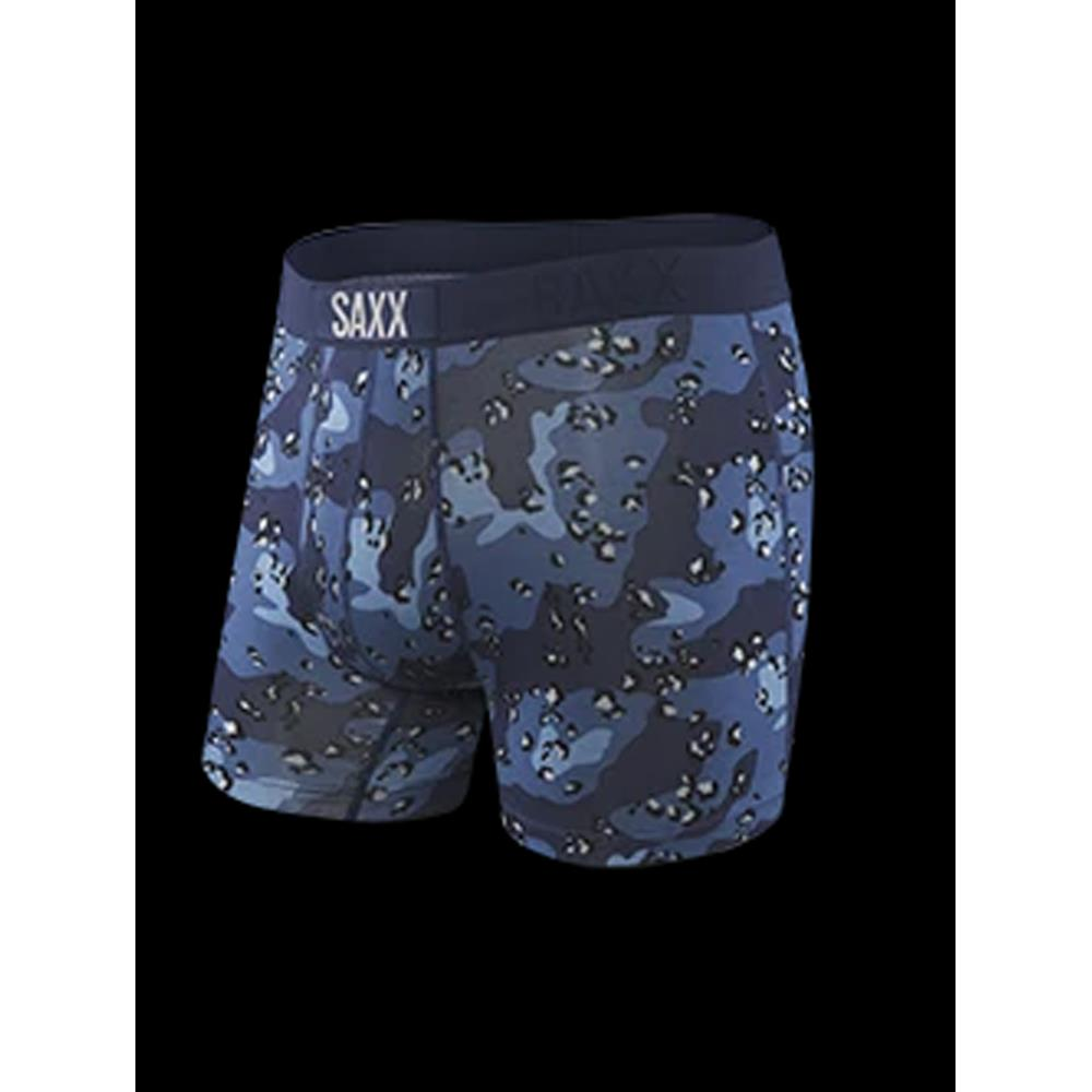 SAXX Platinum Boxer Brief Fly, Navy Green