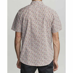M5181RBF-ANW, ANTIQUE WHITE, RVCA, BELLFLOWER BUTTON UP SHIRT, MENS SHORT SLEEVE WOVEN SHIRTS, SPRING 2020