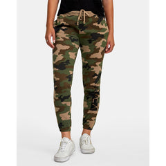 W324WRLA-CAM, CAMO, LATERAL RVCA SWEATPANTS, RVCA, WOMENS SWEATPANTS, HOLIDAY 2019