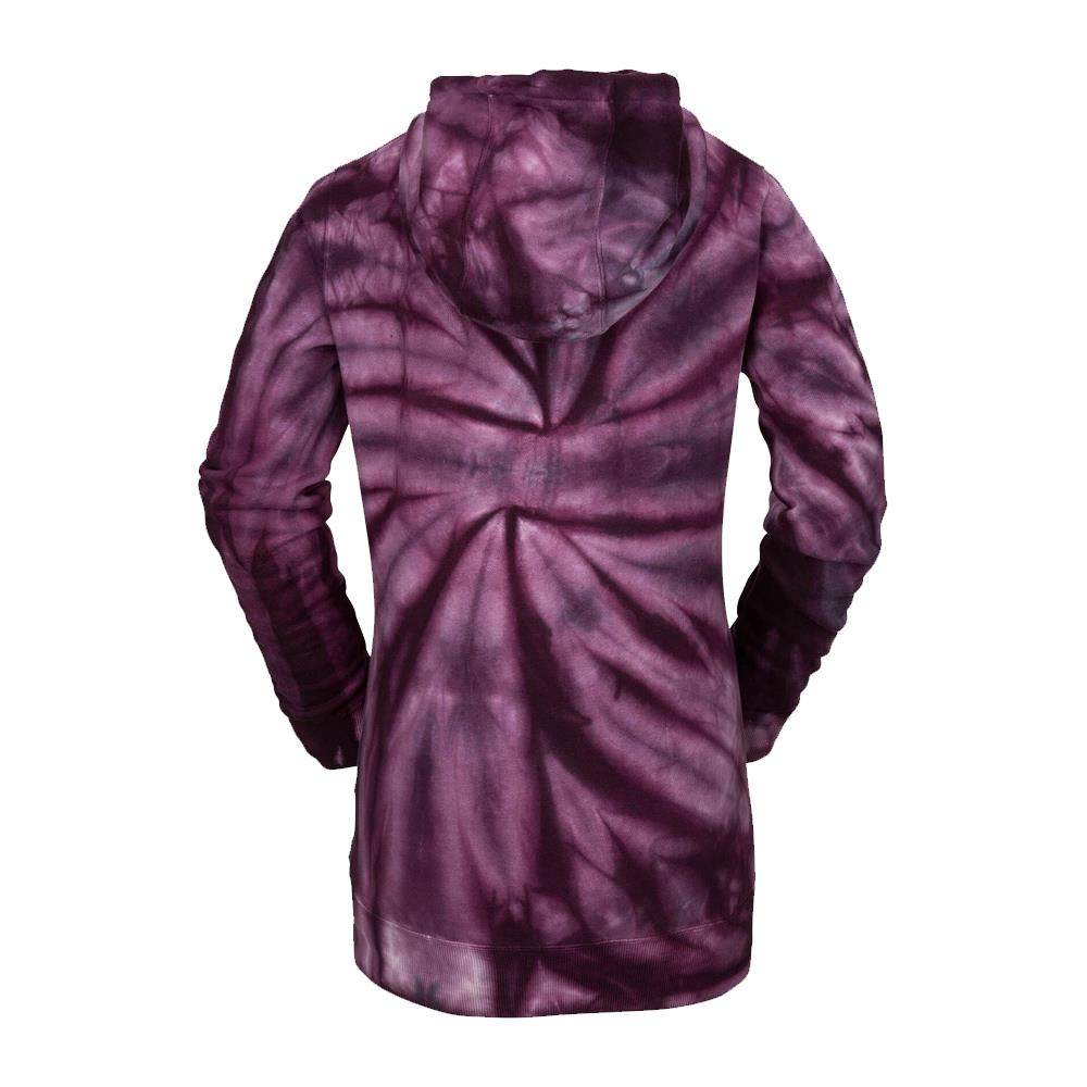 h2452006-puh Volcom Costus Pullover Fleece back view purple haze