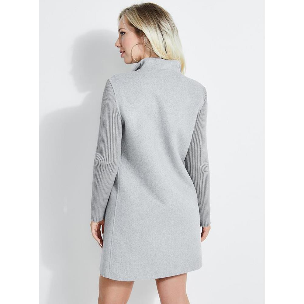 w9322lmw851-lhgm Guess Cristina Coat grey back