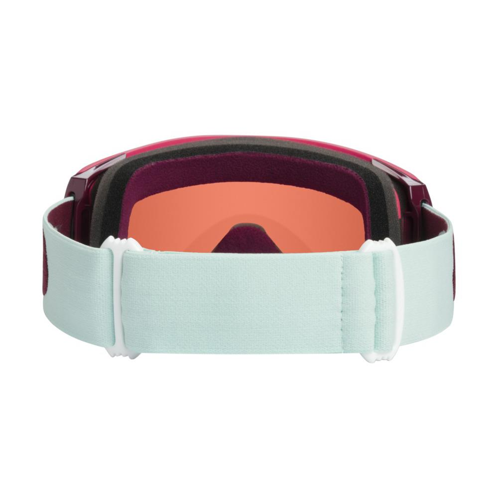oo7093-21 Oakley Line Miner XM Snow Goggle strong red jasmine/snow rose back