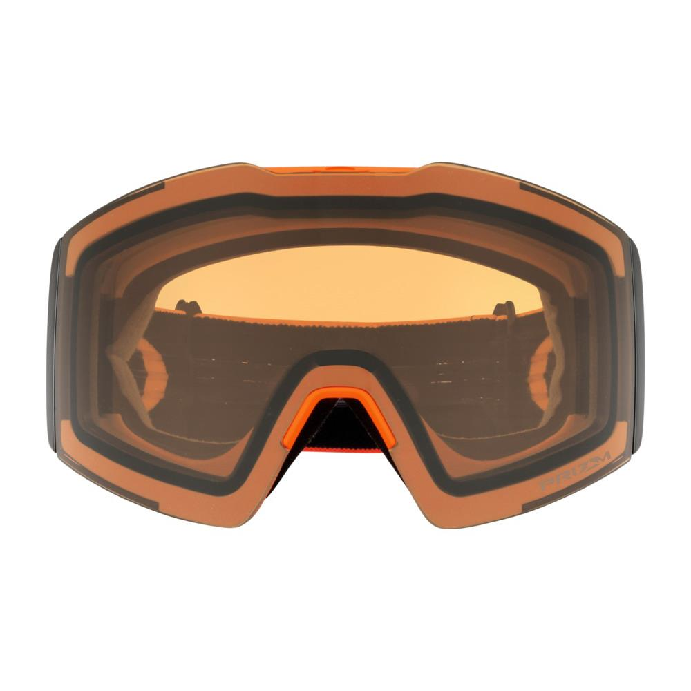 oo7099-04 Oakley Fall Line XL Snow Goggle neon orange black/snow persimmon front