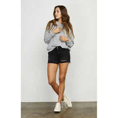 GFX2001-464, Heather grey, Gentle Fawn, Verse Sweatshirts, Womens Sweatshirts,