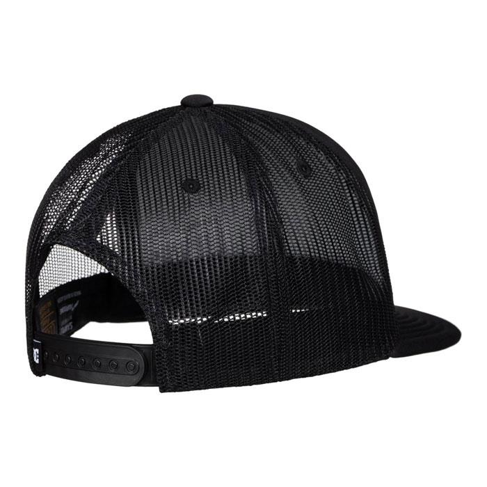 dc madglads trucker hat boys back view youth hats black