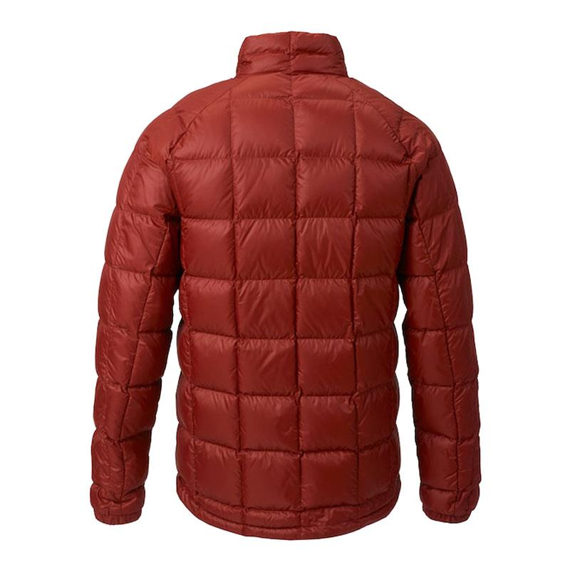 burton ak bk down insulator jacke back view mens isulated snwboard jackets red 10003104600