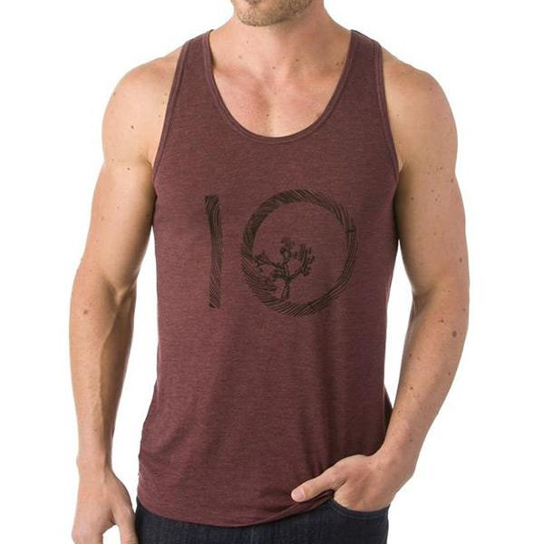 ten tree wildwood ten tank front view mens tank tops and jerseyes red mivin-red