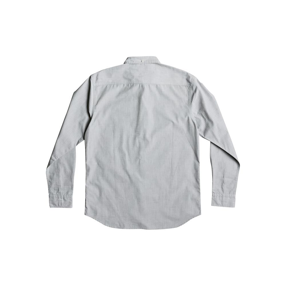 quicksilver Wilsden LS back view  Mens Button Up Long Sleeve Shirts white eqywt03378-szh0