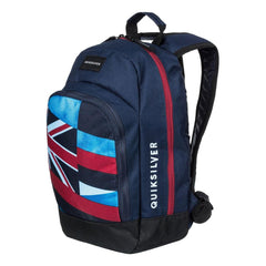 quicksilver Chompine K Backpack side view  School Backpacks blue/red eqkbp03005-brc0