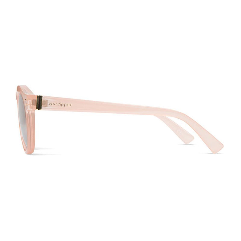 von zipper Ditty side view Womens Lifestyle Sunglasses pink rose gold smffndit-rgc