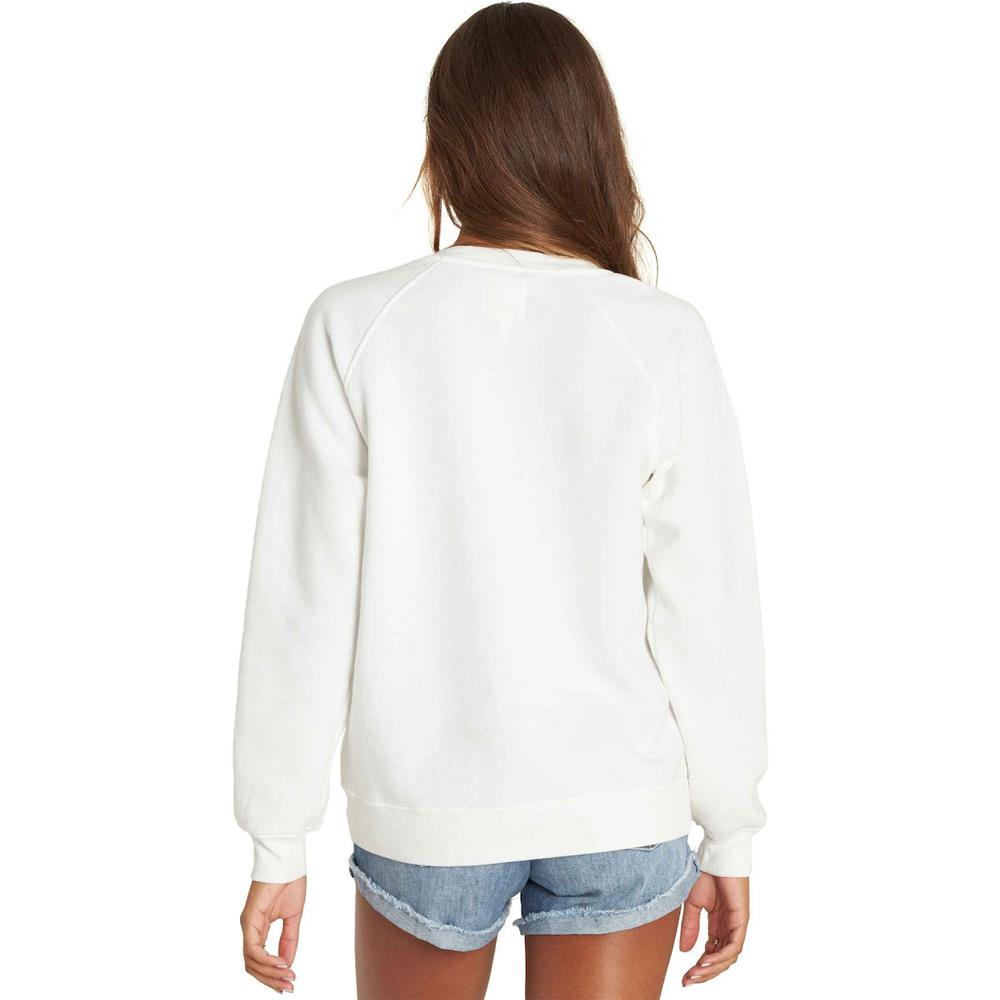 j650pbpu-wcp billabong pullover crew womens pull over hoodies white