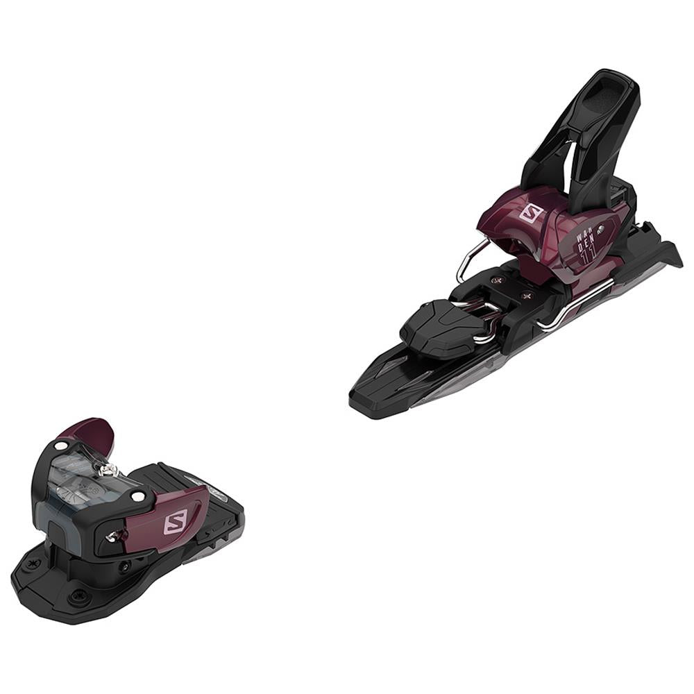 l4050780020 salomon n warden mnc 11 overall veiw unisex bindings wine