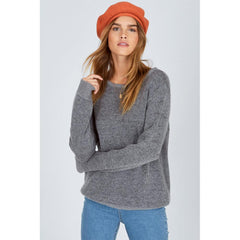 AMUSE SOCIETY MARIN BERET OVERALL VIEW WOMENS FASHION HATS ORANGE