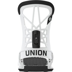 1931025 Union Bindings Mens Flite Pro Snowboard Binding white back