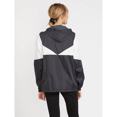 b1541904-bwh Volcom Wind Stoned Jacket black white back