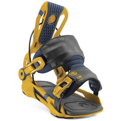 FS20018-Mustard, Yellow, Flow, Fenix Men's Snowboard Bindings, Rear Entry Bindings, Winter 2020