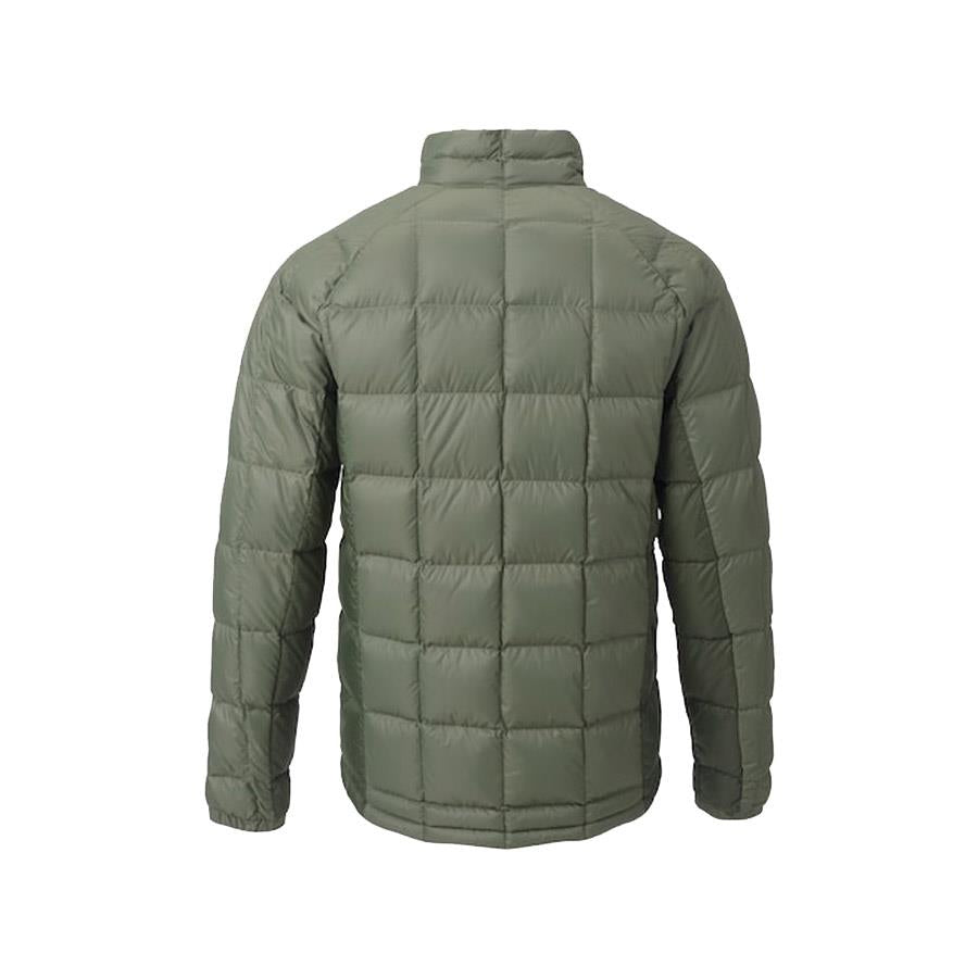 burton ak bk down insulator jacket back view mens isulated snwboard jackets olive 10003104300