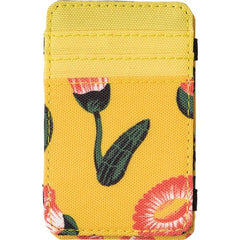 rvca luke magic wallet inside view mens wallets yellow mawtnrlm-yel