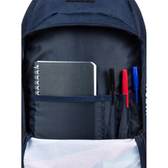 quicksilver Chompine K Backpack inside view  School Backpacks blue/red eqkbp03005-brc0