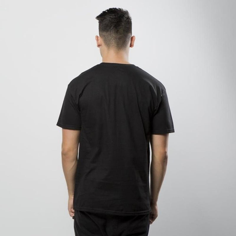 huf Original Logo Tee back view Mens T-Shirts Short Sleeve black tsbsc1111