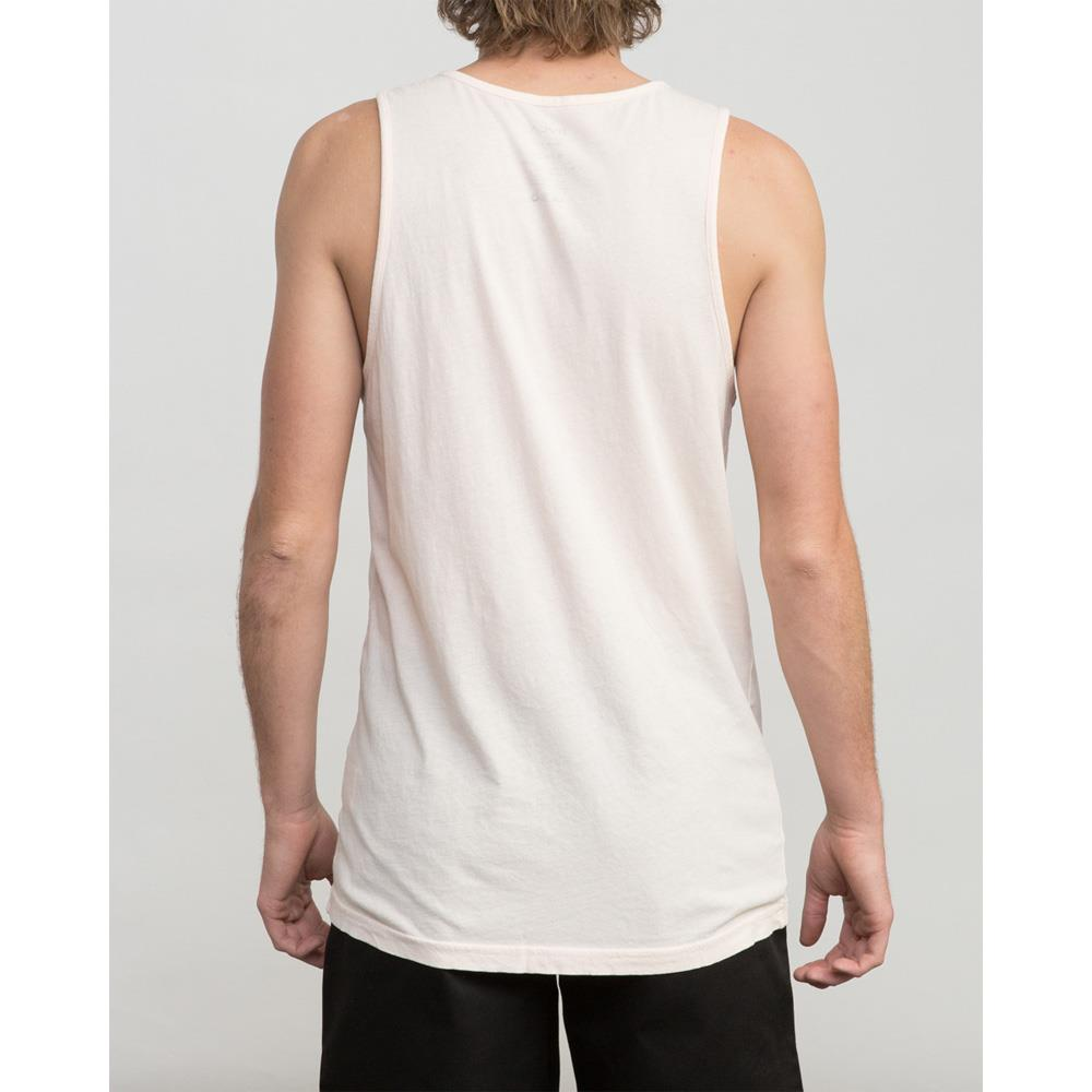 rvca ptc pigment tank back view mens tank tops and jerseys pink