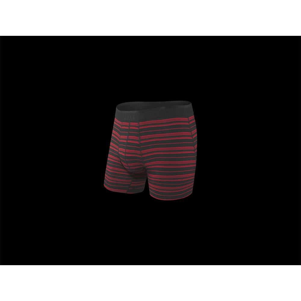 SAXX Platinum Boxer Brief Fly, Red Stripe