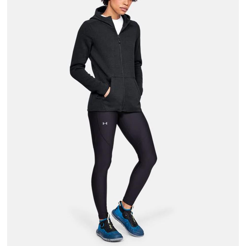 1316282-001, Black, Under Armour, Wintersweet hoodie, Womens Zip Up Hoodies, Tech Gear, Fall 2019