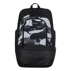 quicksilver 1969 Special front view School Backpack black/white eqybp03424-kzm0