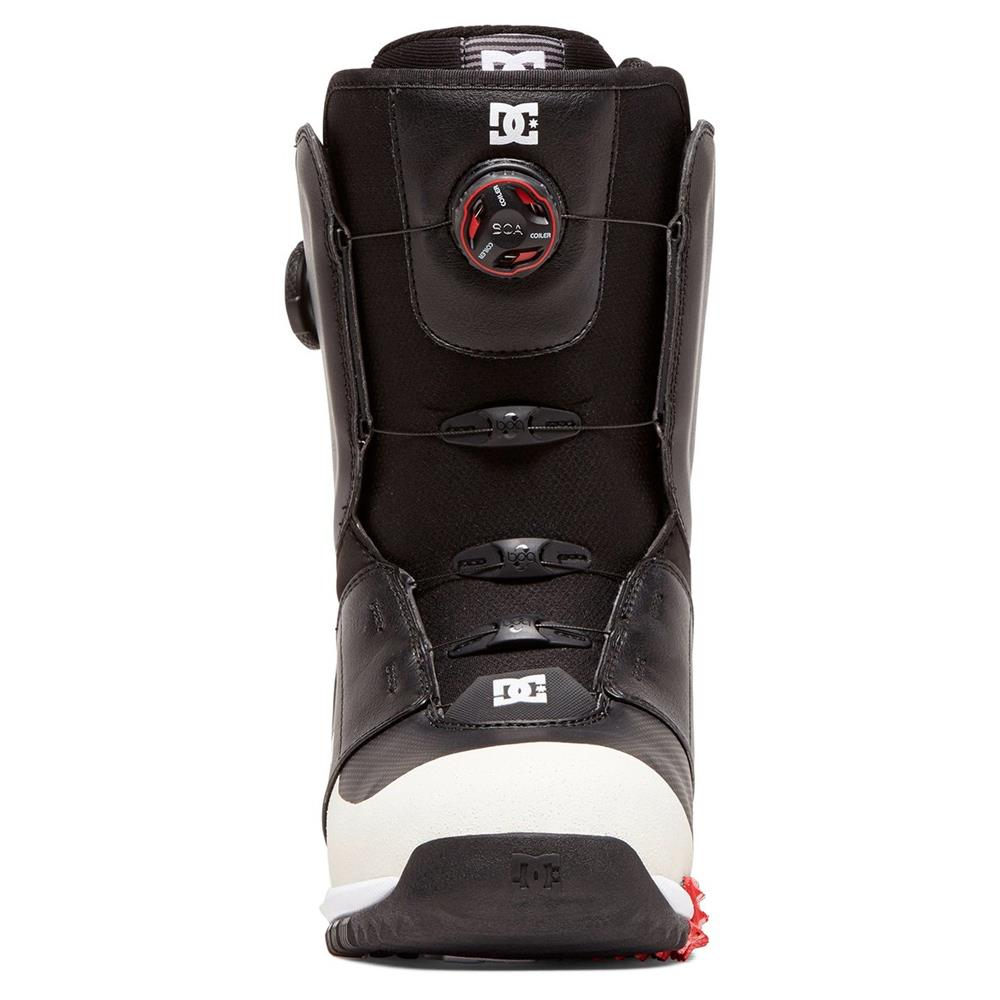 adyo100035-bl0 DC Control Mens Boa Snowboard Boots black front  view