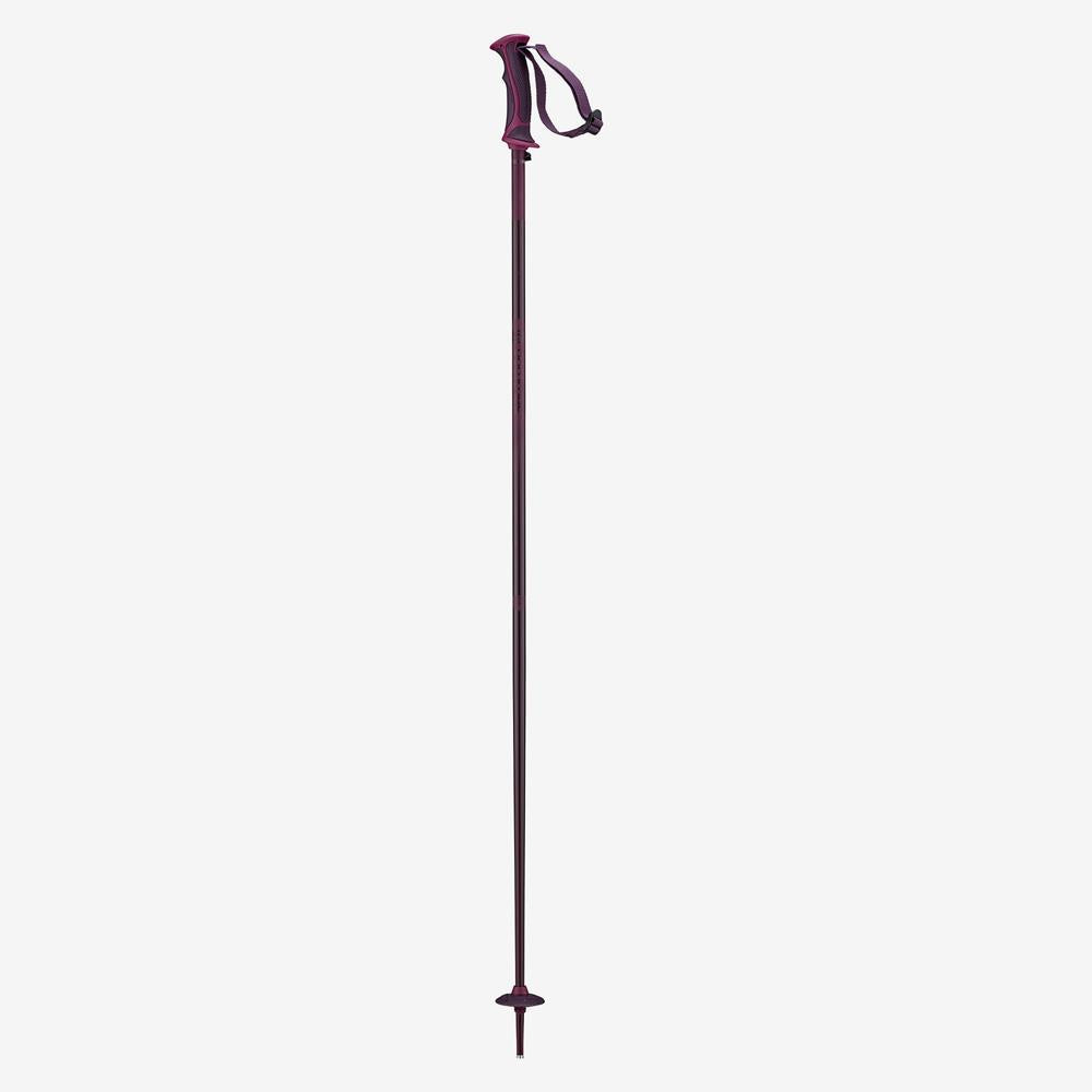 L40560400, FIG, RED/BLACK, ARCTIC LADY POLES, SALOMON POLES, WINTER 2020