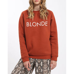 Brunette The Label Blonde Crew Womens Sweater