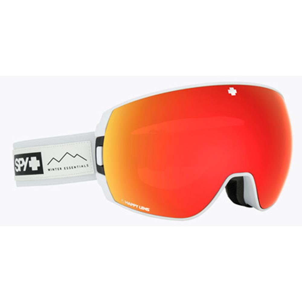 313483142460, Legacy Essentails, white with red spectra, goggles, Spy, Winter 2020