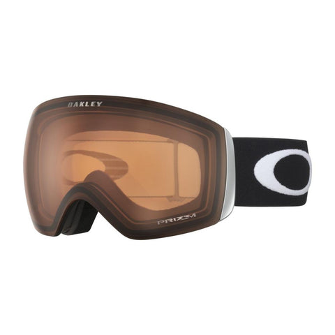 0oo7050-75 Oakley Flight Deck Prizm Snow Goggles matte black/persimmon side
