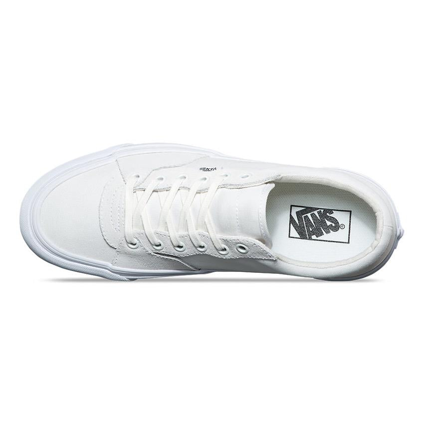 vans style 205 top view mens skate shoes white vn0a3dptr4f