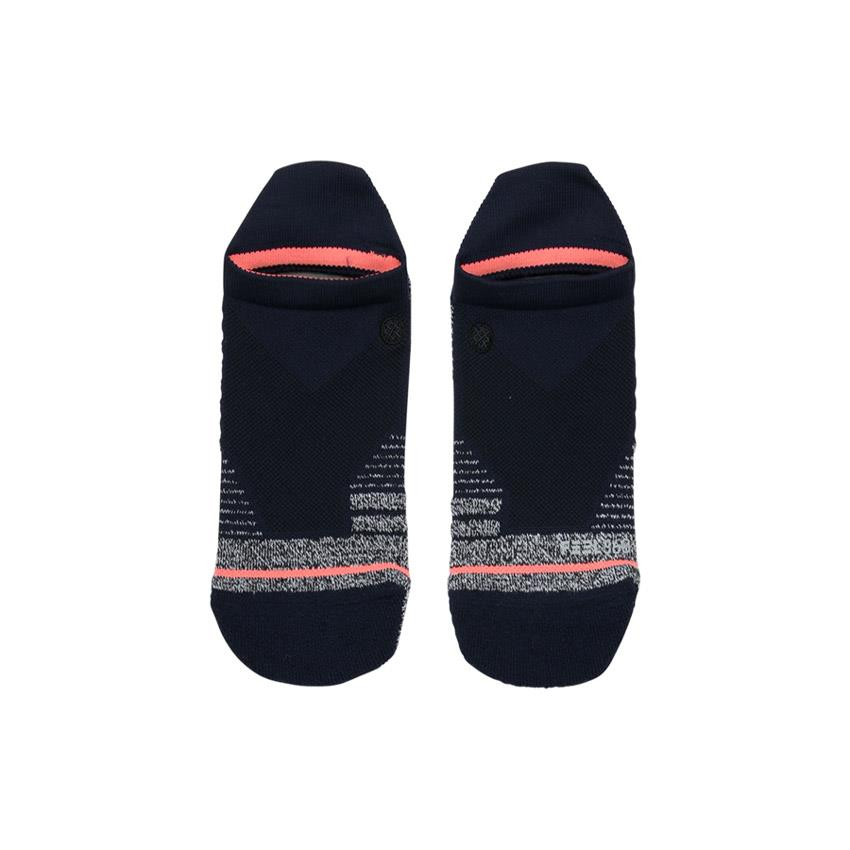 stance training isotnic tab sock top view womens socks navy blue w257a18iso-blu
