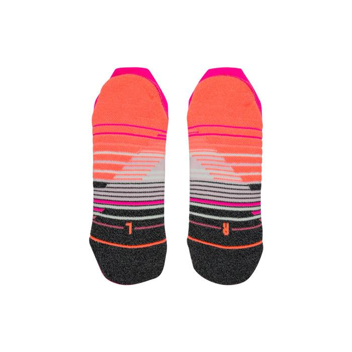 stance training siella tab socks bottom view womens socks pink w257a18sie-pink