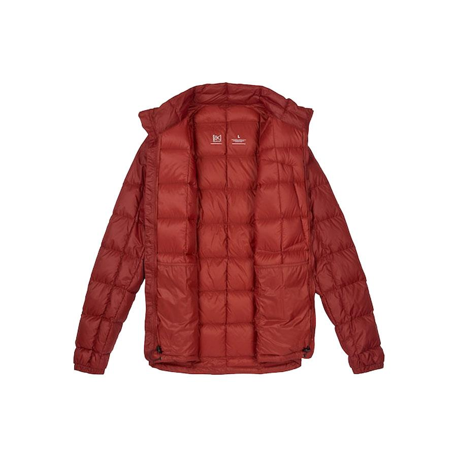 burton ak bk down insulator jacket inside view mens isulated snwboard jackets red 10003104600