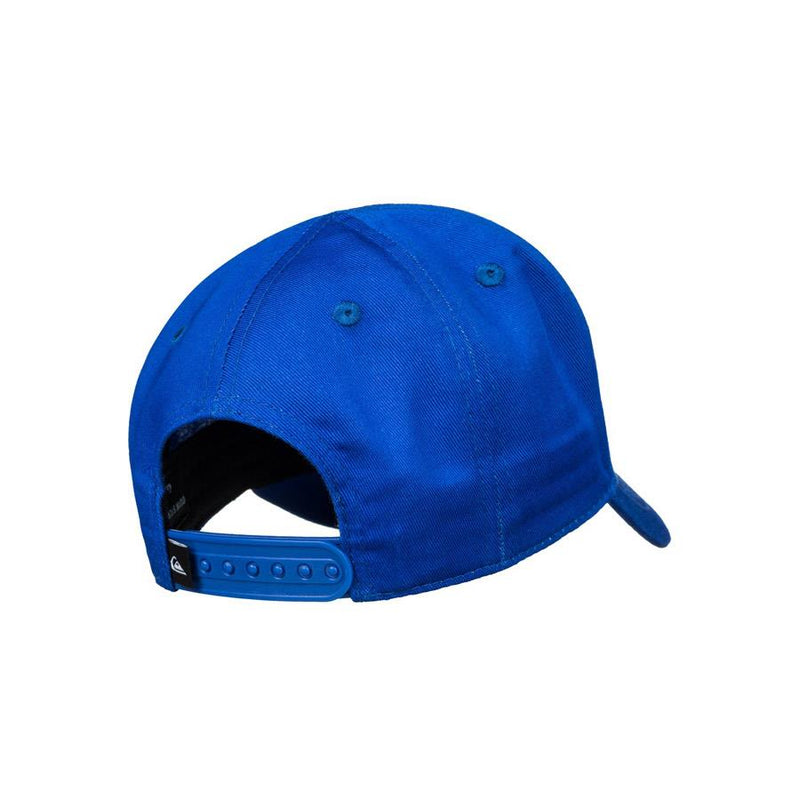 quicksilver decades snapback hat back view toddlers hat blue aqiha0306-bpc0