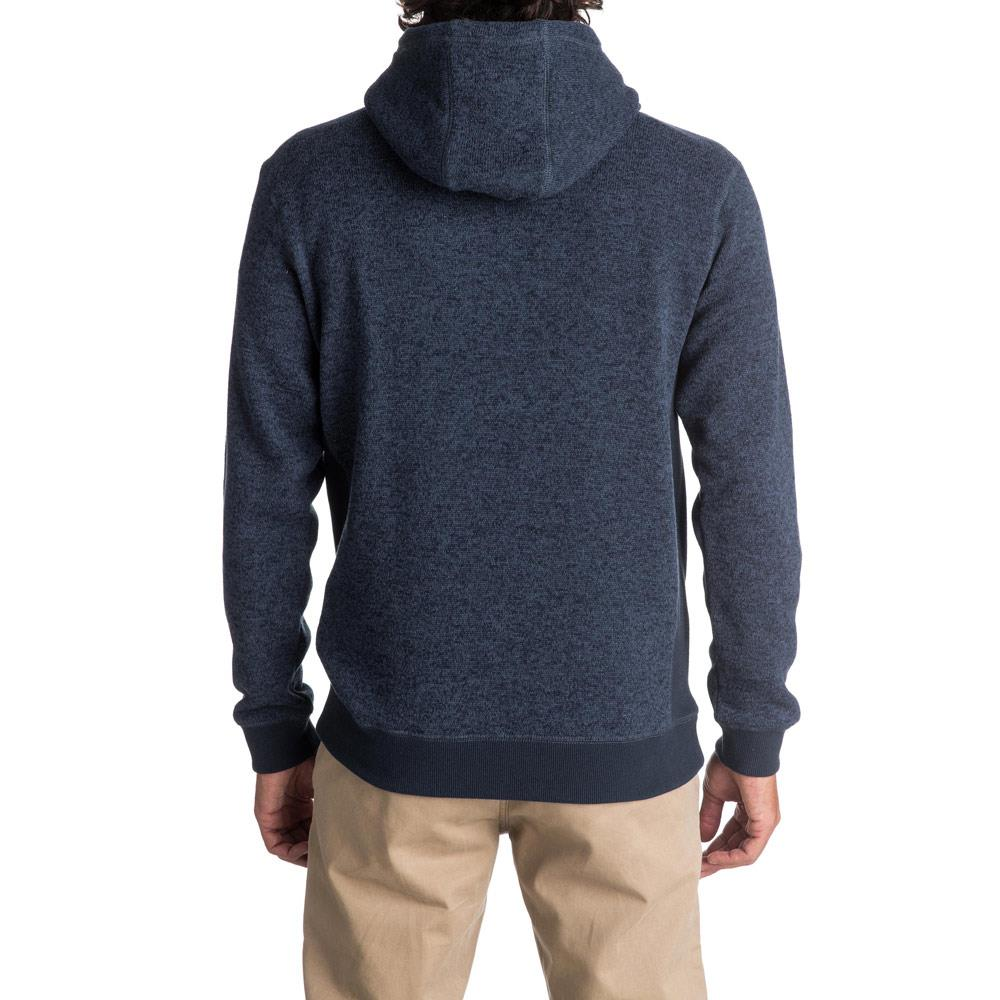 quicksilver Keller Hood back view  Mens Pullover Hoodies blue eqyft03660-byjh