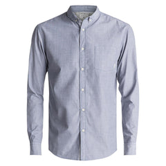 quicksilver Wilsden LS front view  Mens Button Up Long Sleeve Shirts light green eqywt03378-gph0