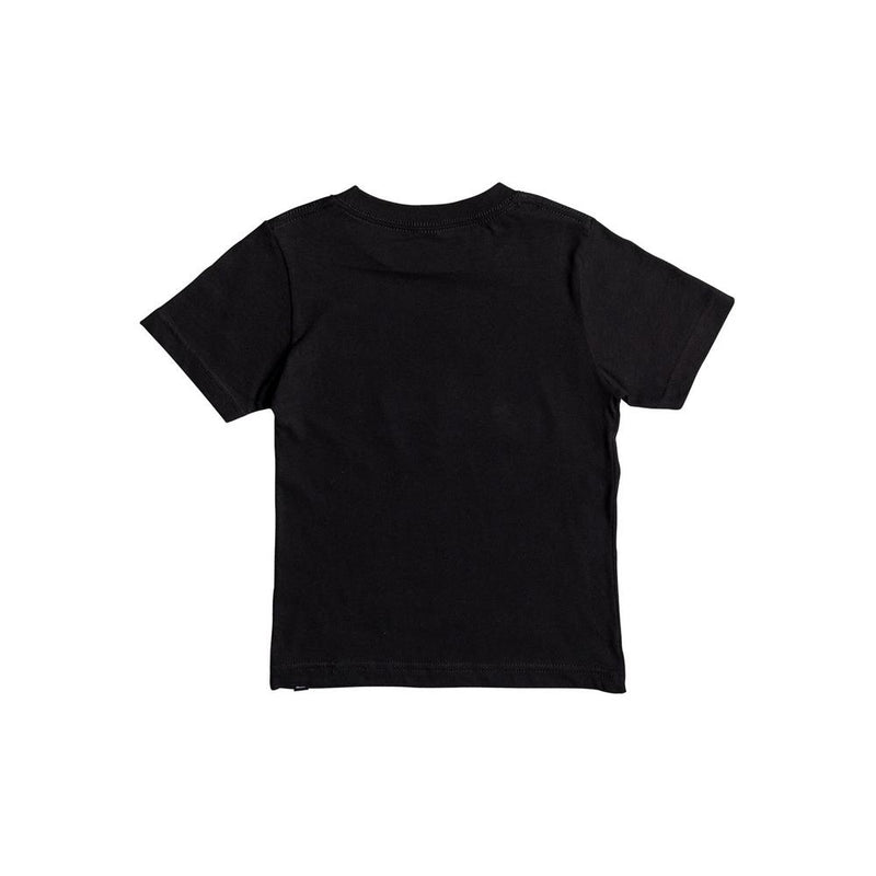 quicksilver Wax Head Boy Tee back view Boys Short Sleeve T-Shirts black aqkzt03275-kvj0