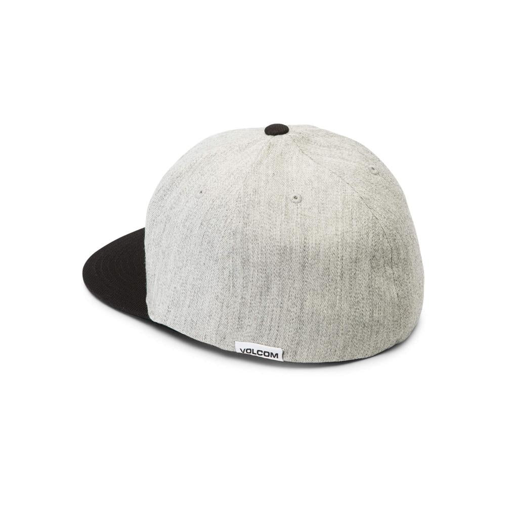D5521806-HGR, Volcom, Heather Grey, Stone Stack Jfit Hat