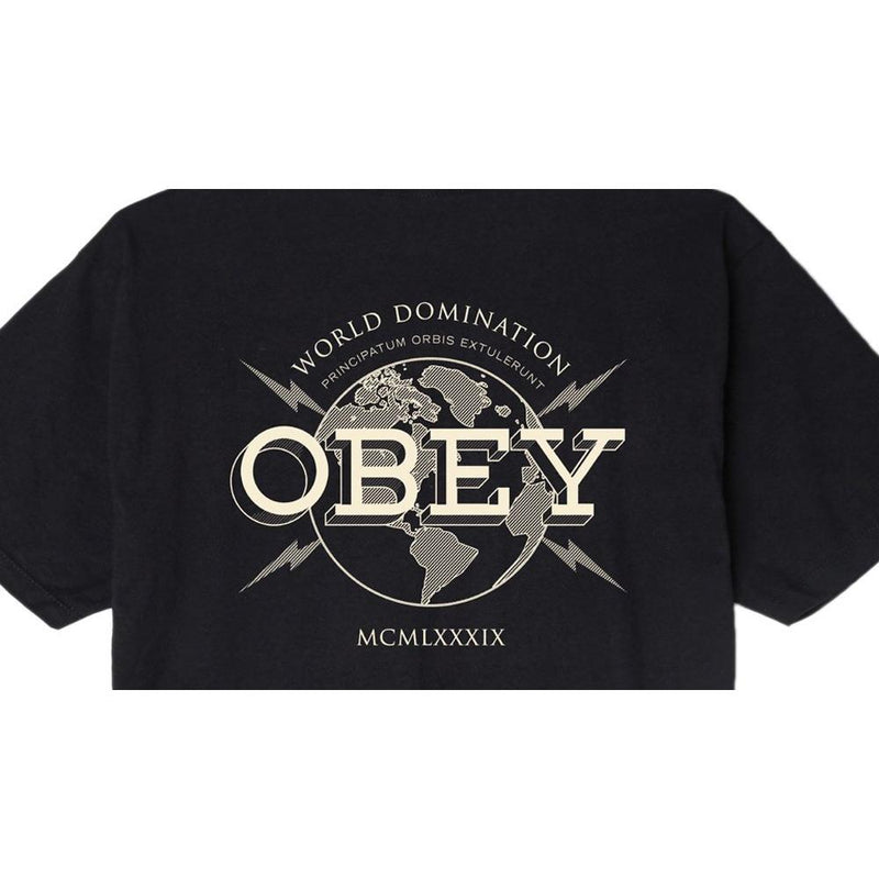 Obey World Domination Mens Premium T-Shirts